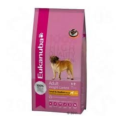 eukanuba adulti taglia piccola e media weight control