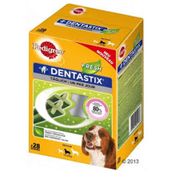 dentastix fresh medium multipack