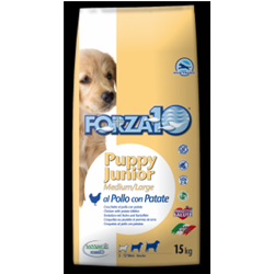 forza 10 Puppy Junior pollo e patate M/L kg 15