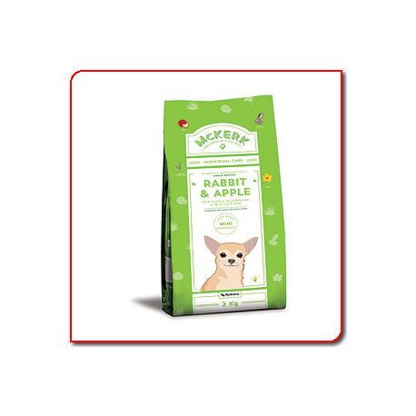 McKerk Rabbit & Apple Adult Mini 2 Kg