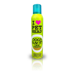 Pet Head Shampoo a secco fragola e limone Dogs Luv It