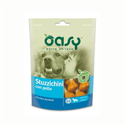 oasy dog stuzzichini con pollo