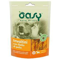 oasy dog involtini con fiiletto di pollo