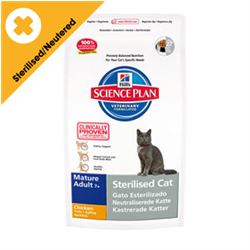 hill's sterilised cat mature adult 7+