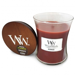woodwick Candela redwood
