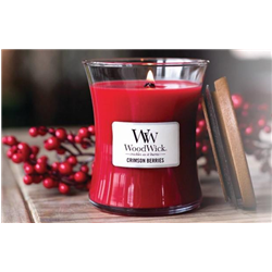 woodwick Candela crimson berries