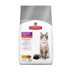 science plan feline sensitive stomach & skin g 400