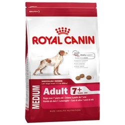 Medium adult 7+ Royal canin