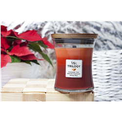 woodwick Trilogy Candela exotic spices